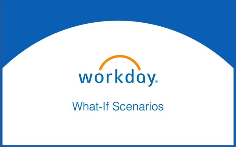 What-If Scenarios