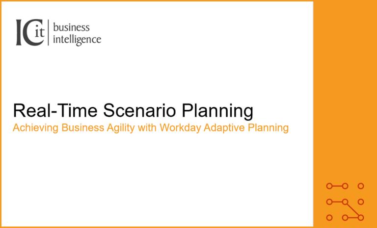 Real-Time Scenario Planning